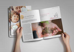 In der neuen Info-Broschüre gibt es Wissenswertes rund um Finanzfragen und Experten-Tipps.
