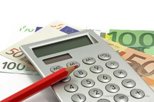 Taschenrechner und Geld