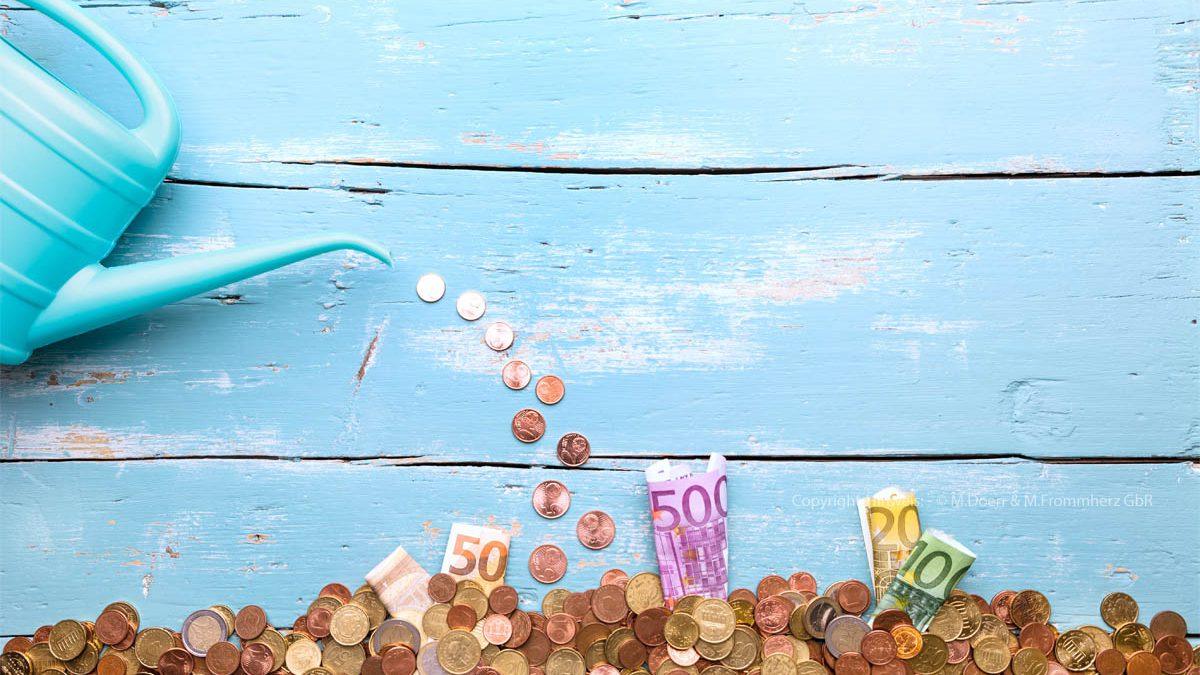Gießkanne, Euros